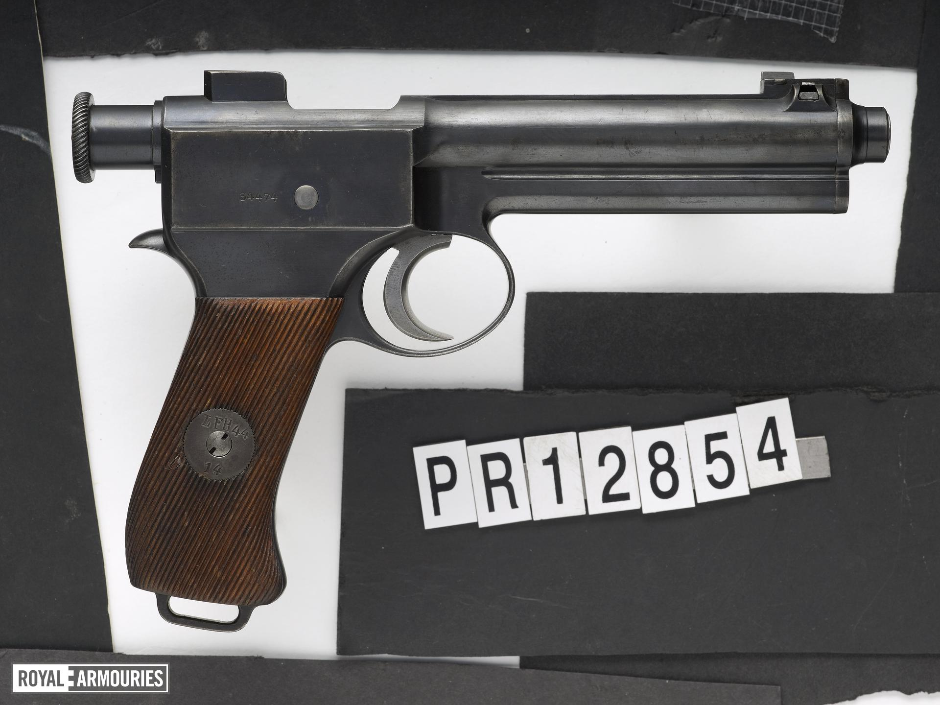 Roth Steyr self loading pistol, Model 1907. Austrian