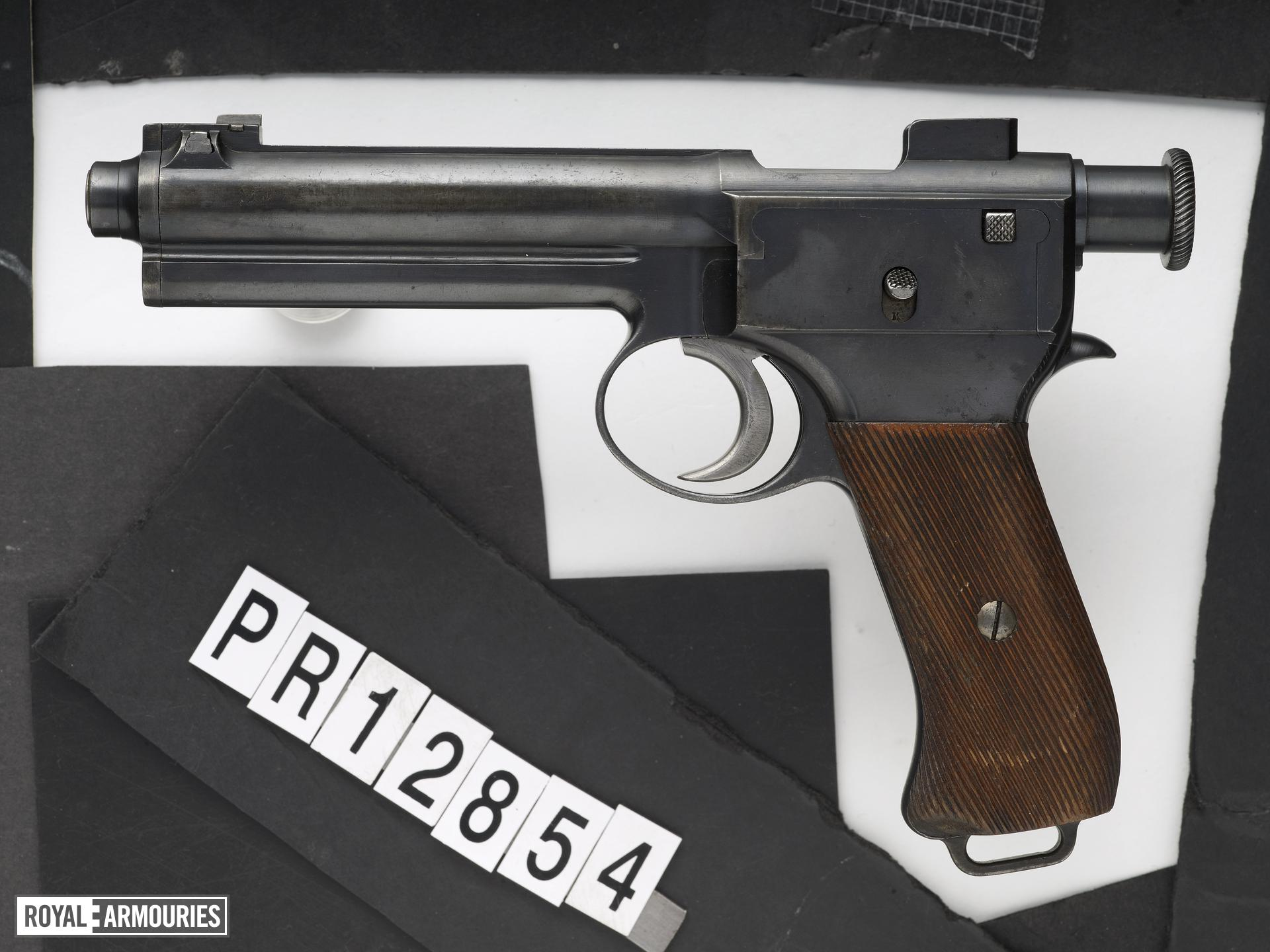 Centrefire self-loading pistol - Roth Steyr Model 1907