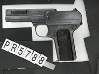 Thumbnail image of Centrefire self-loading pistol - Dreyse Model 1907