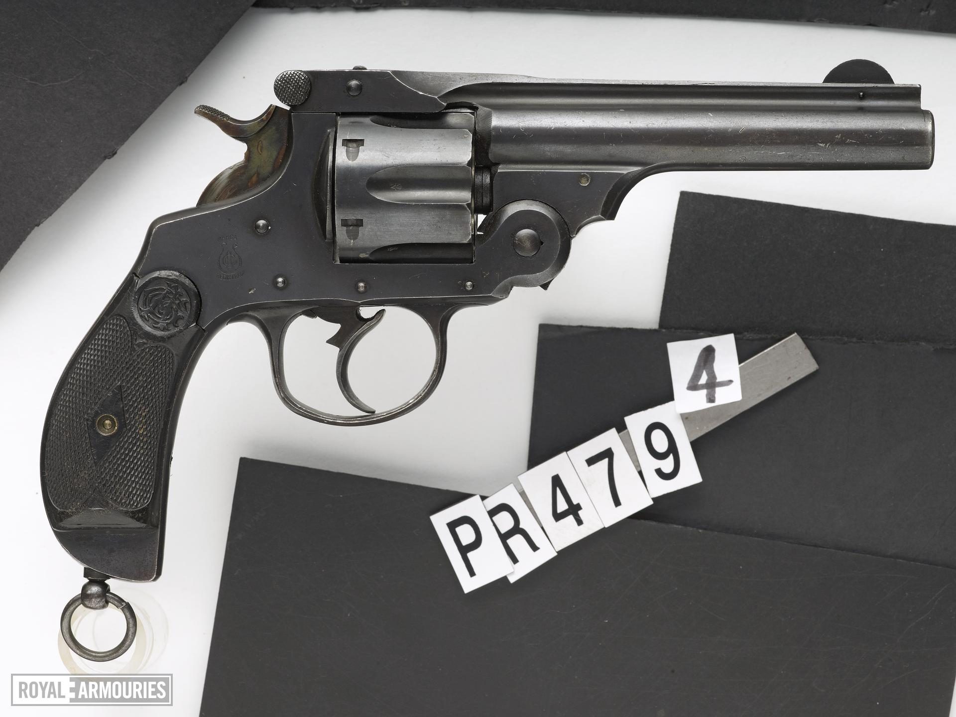 Centrefire six-shot revolver - Garate Anitua Y CIA Smith and Wesson type