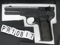 Thumbnail image of Centrefire self-loading pistol - Langenhan F.L Selbstlader