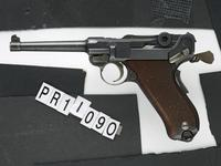 Thumbnail image of Centrefire self-loading pistol - Luger Model 1906 Swiss military pattern service pistol as produced by W+F Bern from 1918 - 1929.
