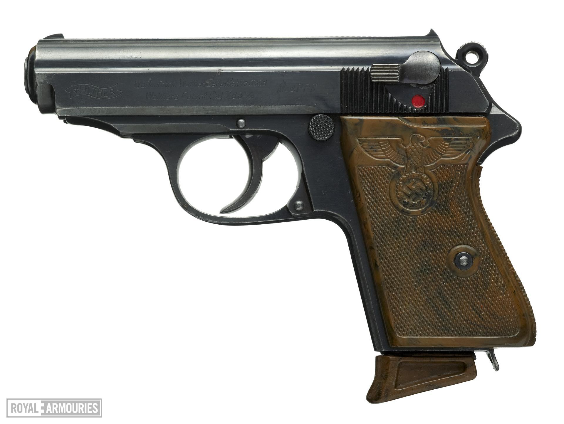 Centrefire self-loading pistol - Walther Model PPK