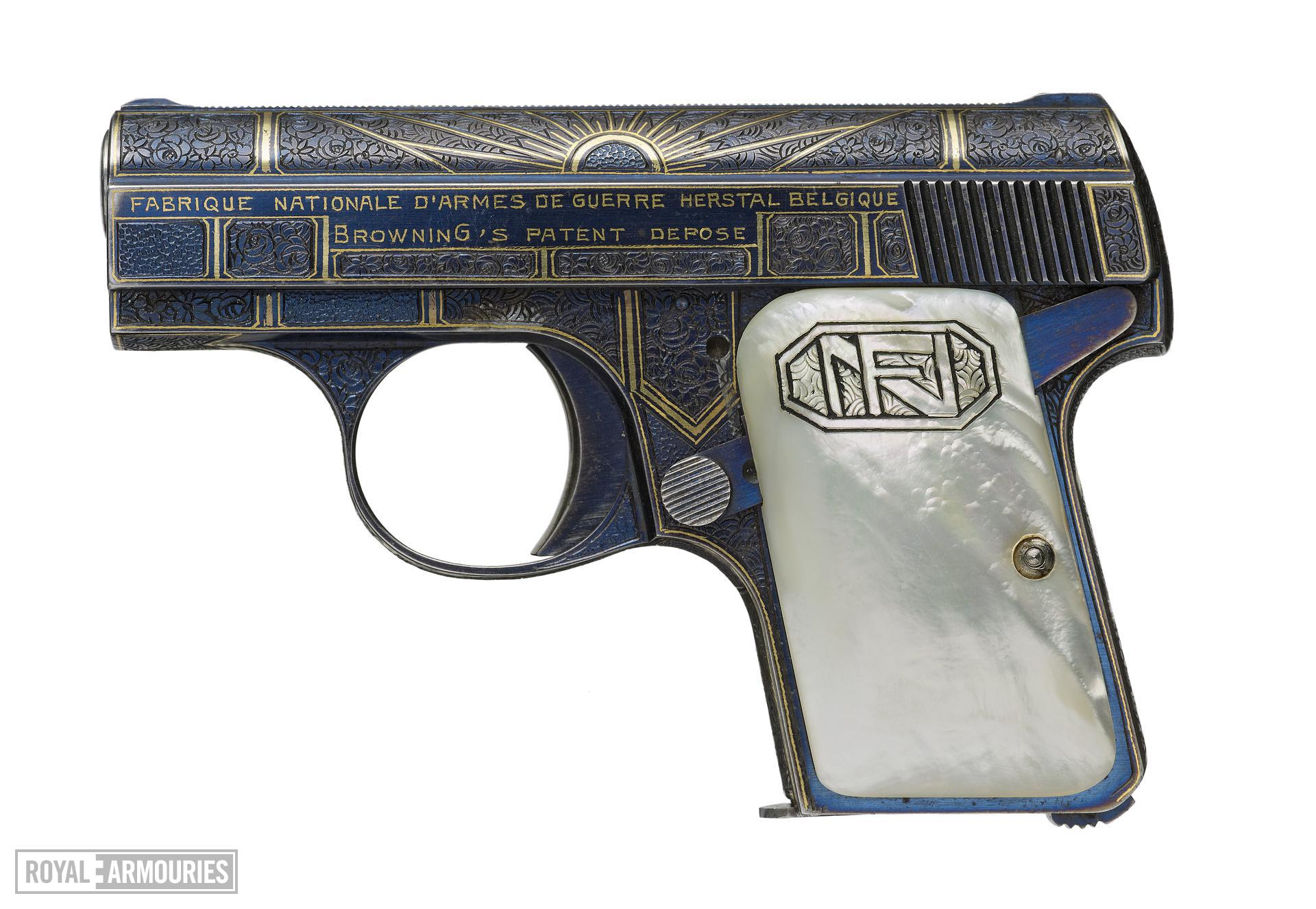 Centrefire self-loading pistol - FN Baby Browning