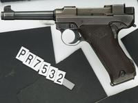 Thumbnail image of Centrefire self-loading pistol - Lahti L-35, 1st Model Experimental version, one of 99 made in 1938.