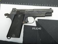 Thumbnail image of Centrefire self-loading pistol - MAC Model 1935S