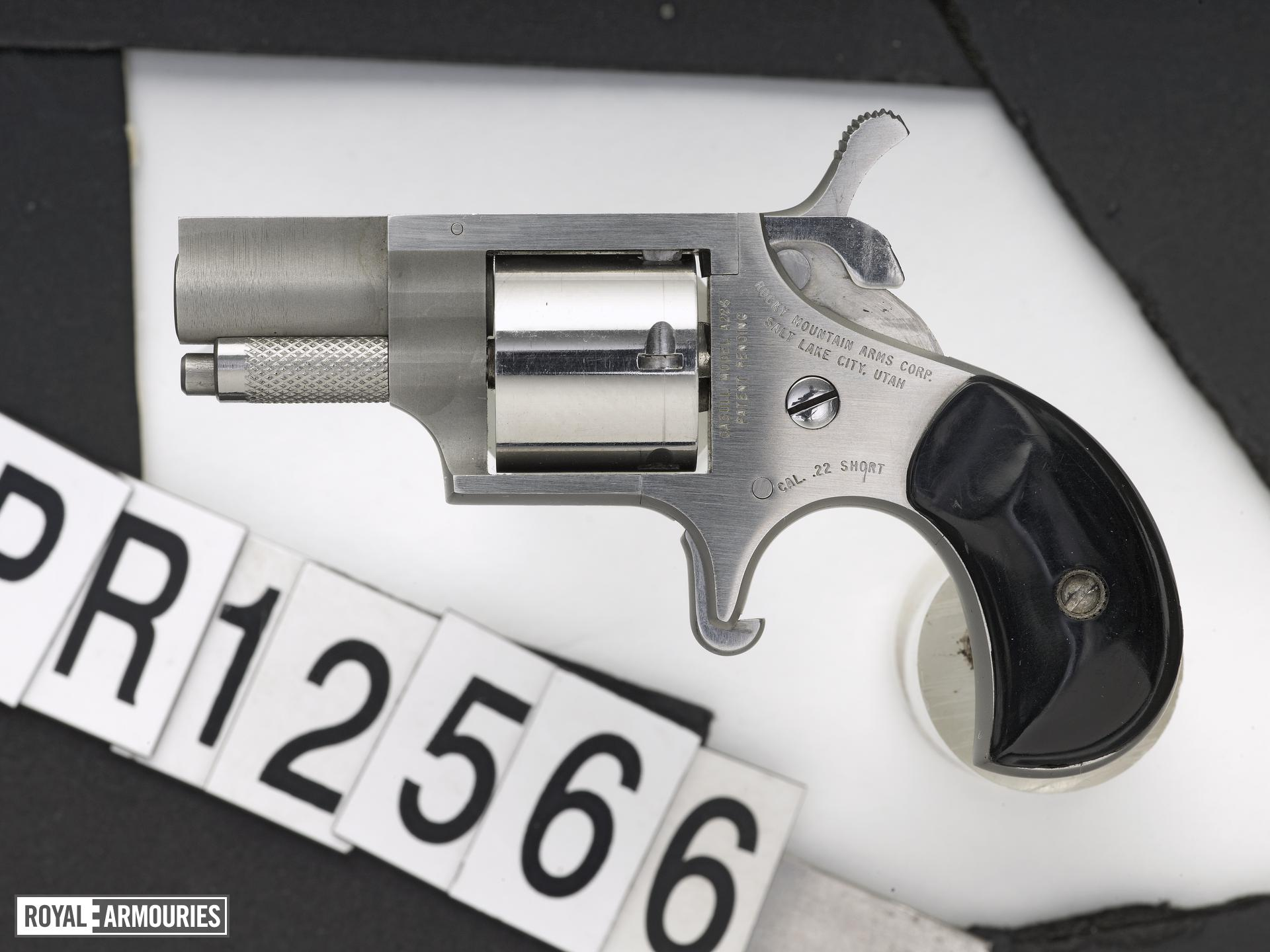 Rimfire six-shot revolver - Rocky Mountain Arms Casull Model A225