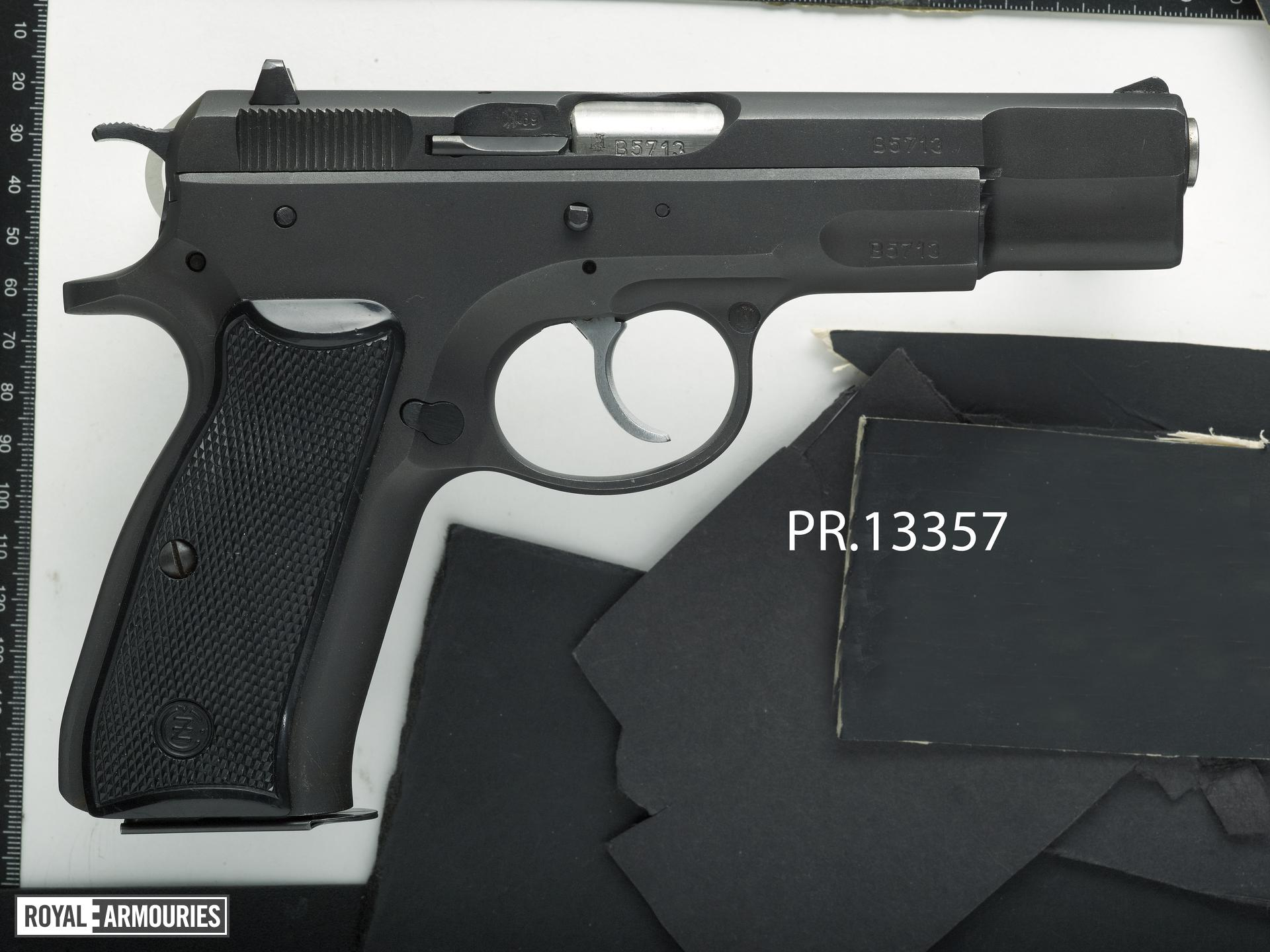 Centrefire self-loading pistol - CZ Model 75
