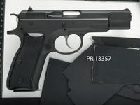 Thumbnail image of Centrefire self-loading pistol - CZ Model 75