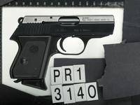 Thumbnail image of Rimfire self-loading pistol - Erma Model EP 322