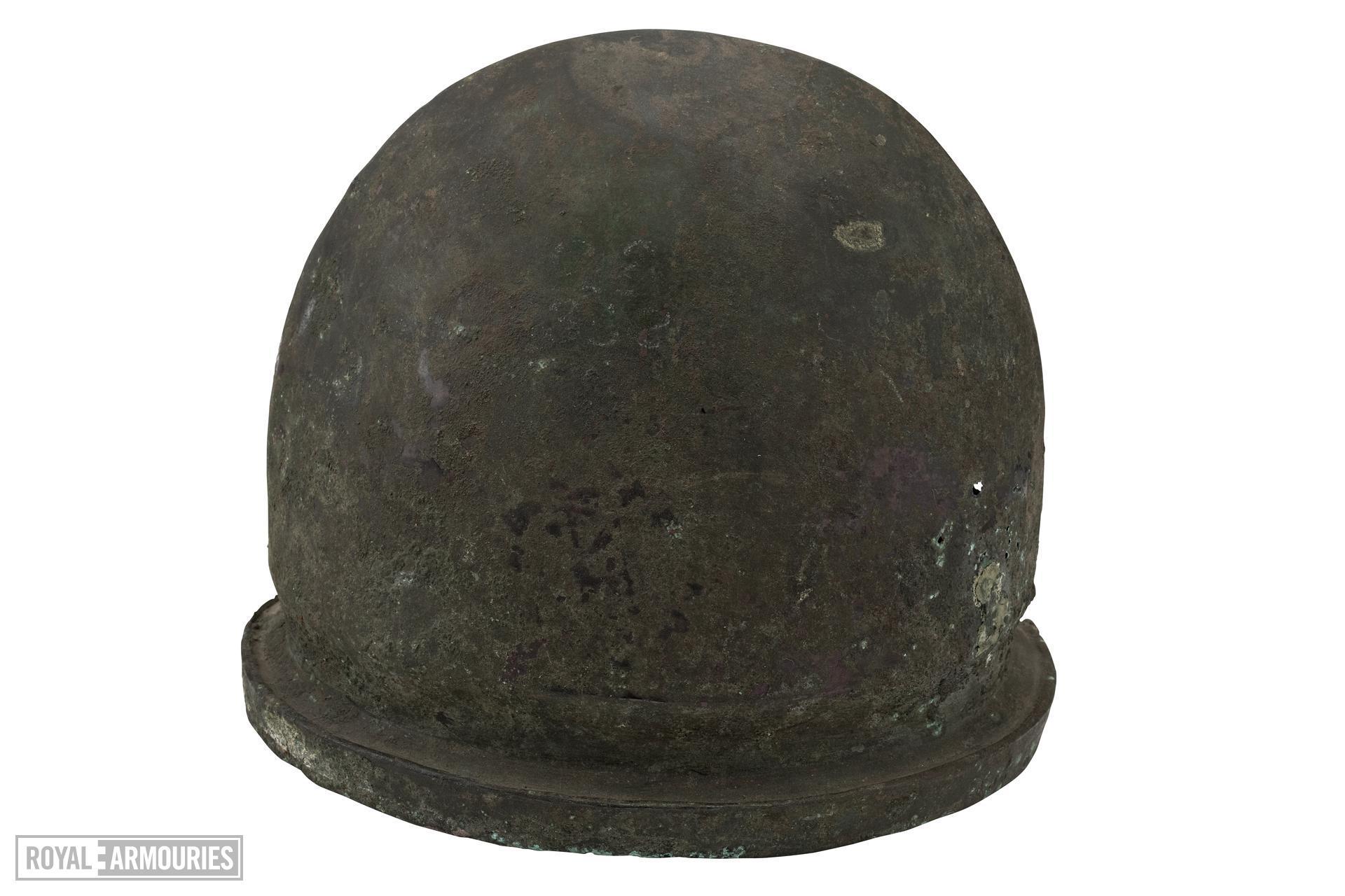 Helmet Etruscan helmet, Negau type.