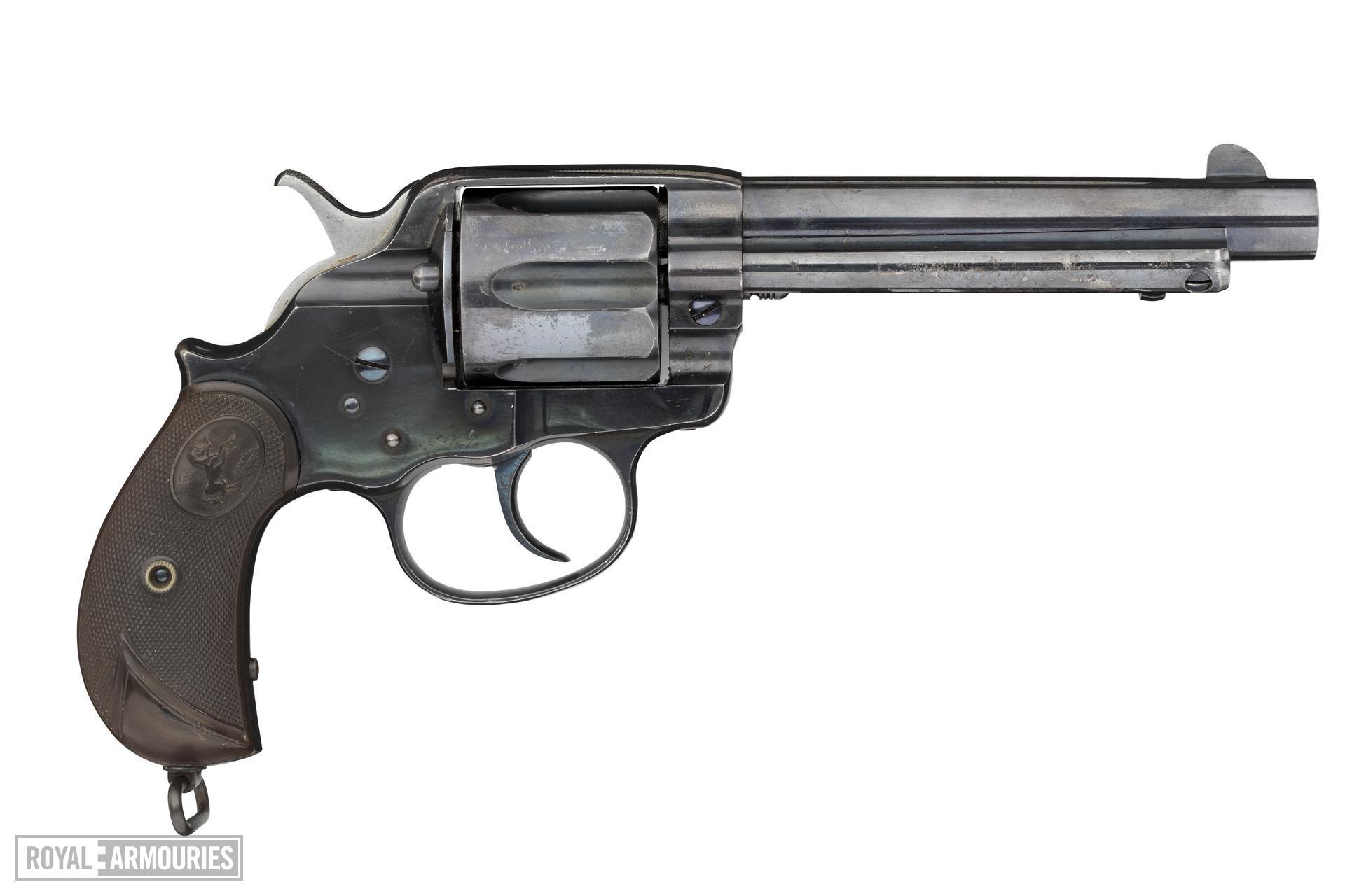 Centrefire six-shot revolver - Colt Lightning