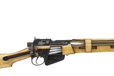 Thumbnail image of Centrefire bolt-action military skeleton rifle - Lee-Enfield No.4 Mk.I/II Skeleton
