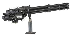 Thumbnail image of Centrefire automatic machine gun - GEC M134, GAU 2B/A