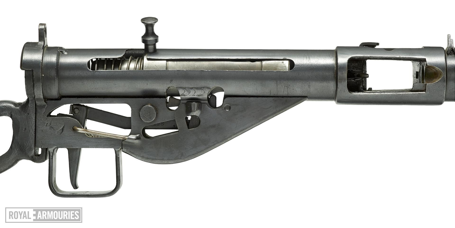 Centrefire automatic submachine gun - Sten Mk.II Skeleton