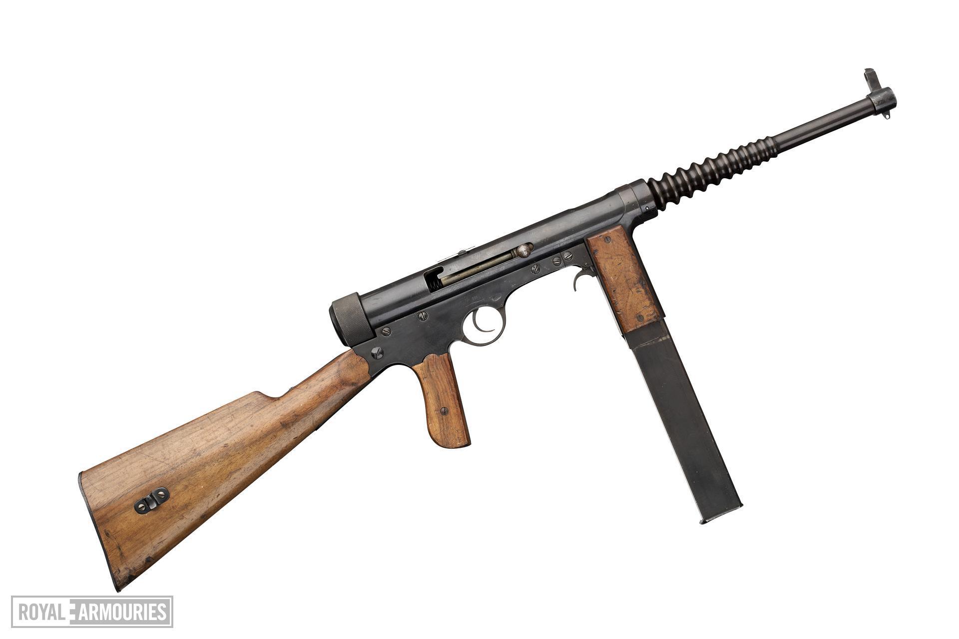 Centrefire automatic submachine gun - Labora