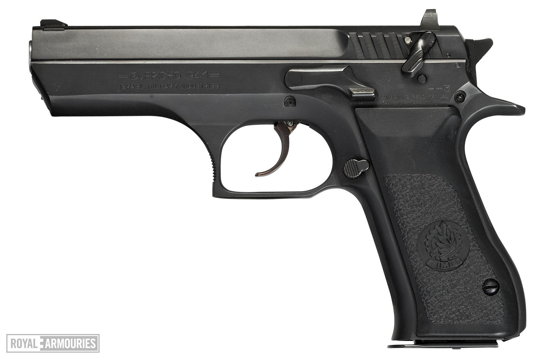 Centrefire self-loading pistol - IMI Jericho Model 941