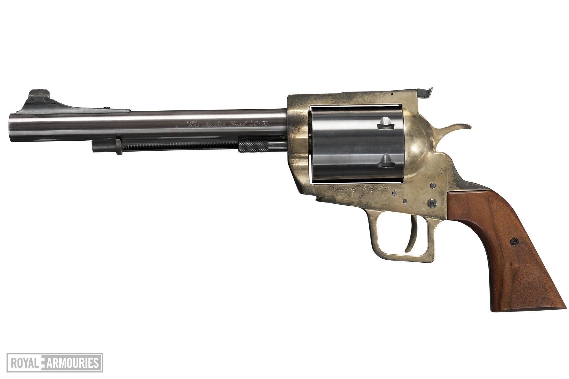 Centrefire six-shot revolver - Century Model 500