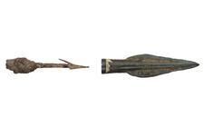 Thumbnail image of Spear head Pegged leaf shaped spear head