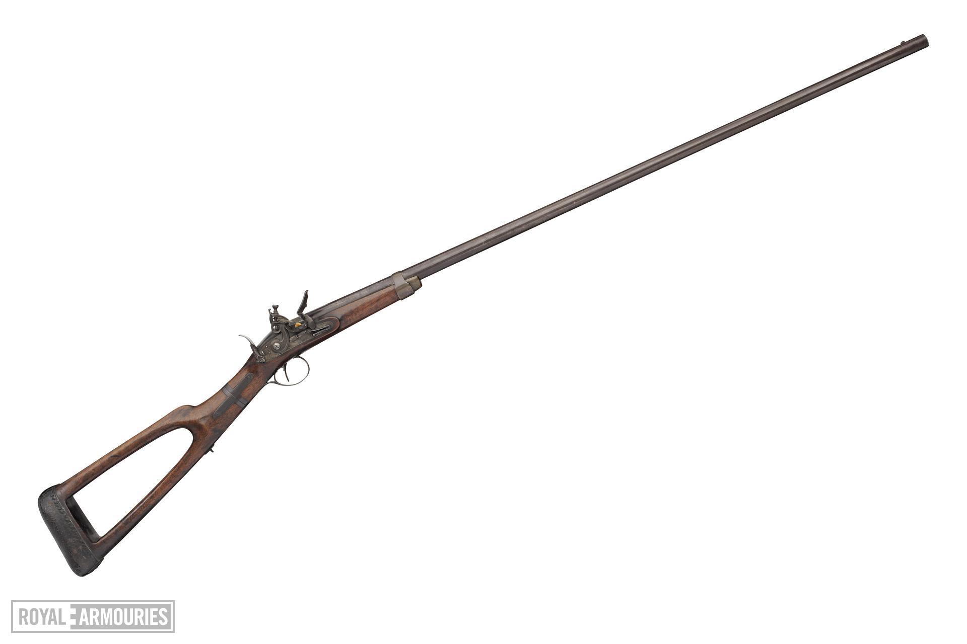 Flintlock gun - By John Barton Take-down design