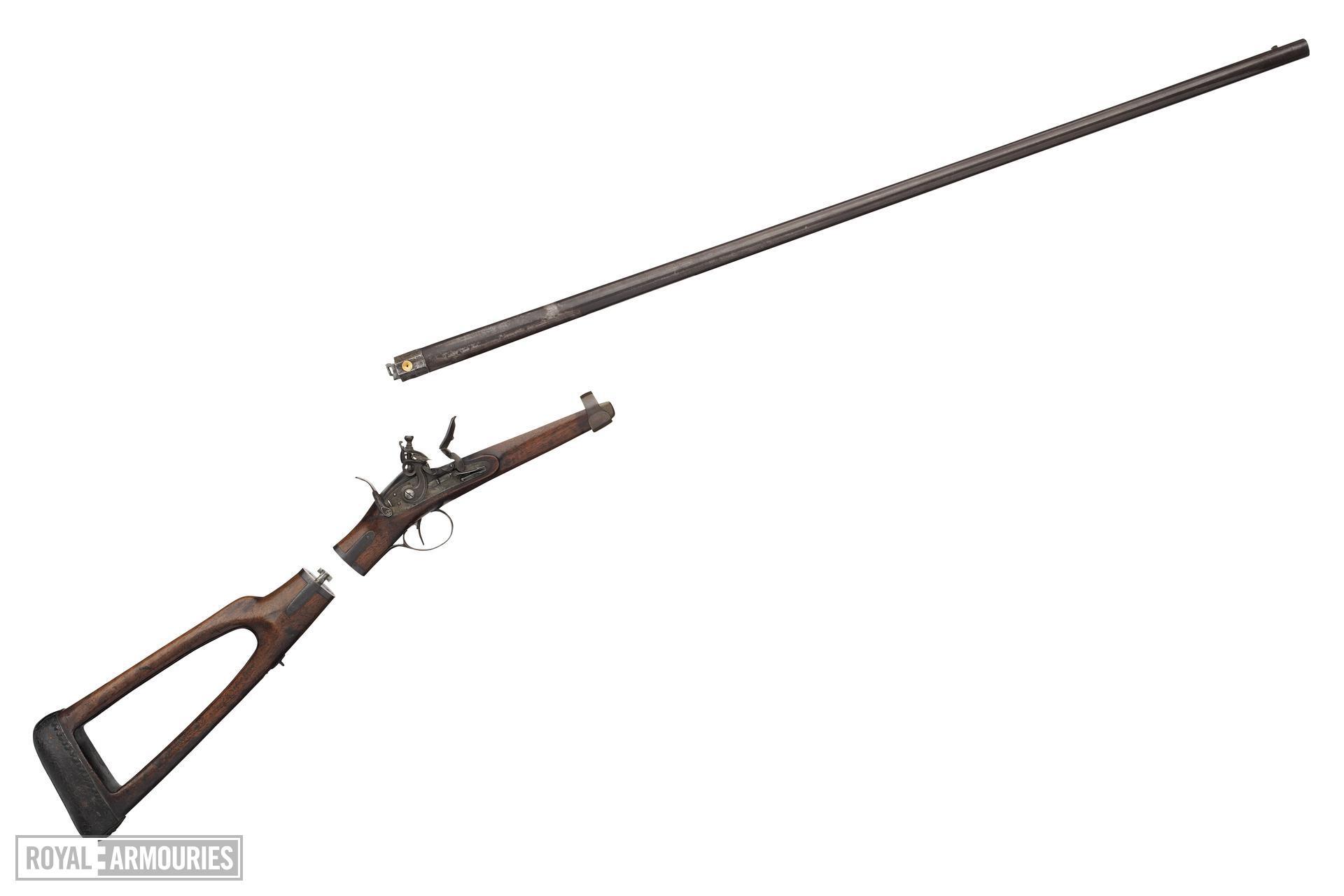 Flintlock gun - By John Barton