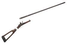 Thumbnail image of Flintlock gun - By John Barton Take-down design