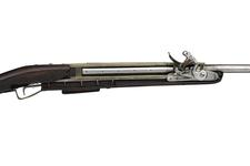 Thumbnail image of Flintlock superimposed musket - By John Belton