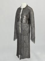 Thumbnail image of Mail and plate coat with long skirts