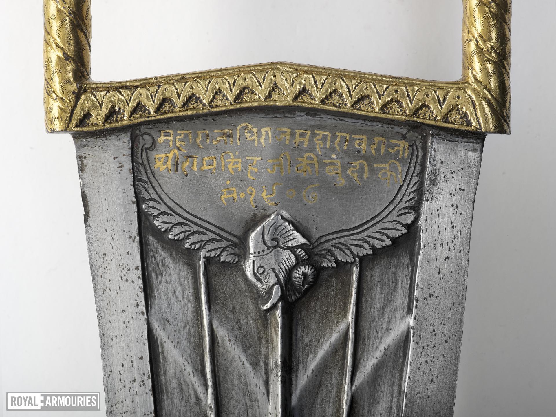 Dagger and scabbard (katar)