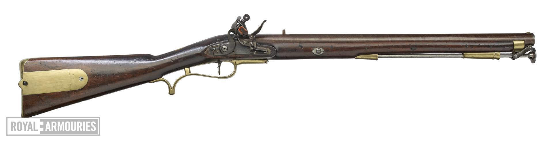 Flintlock muzzle-loading military carbine - Baker Carbine, Pattern 1803