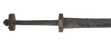 Thumbnail image of Rondel Dagger. With gothic inscription. X.287