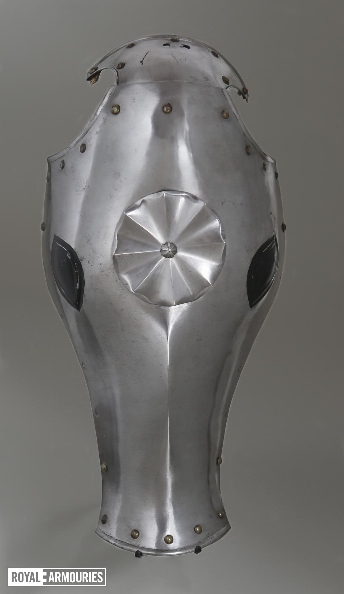 Shaffron for the Scharfrennen. Jousting Armour. II.167