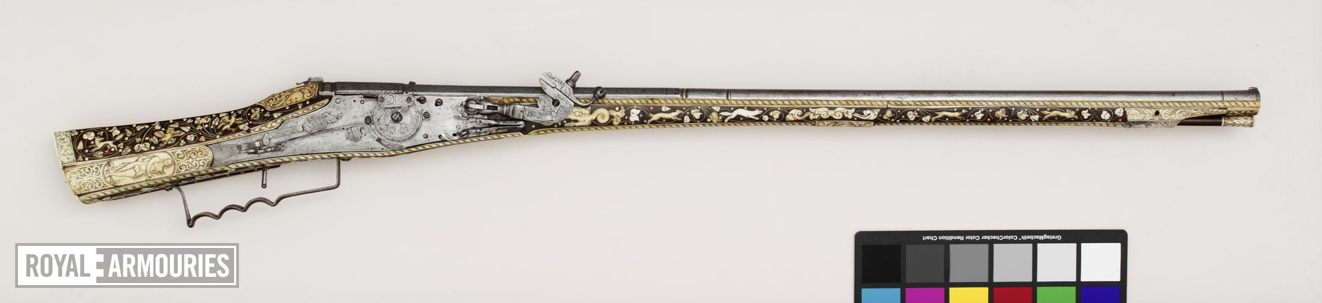 Flintlock gun - By Arnold David