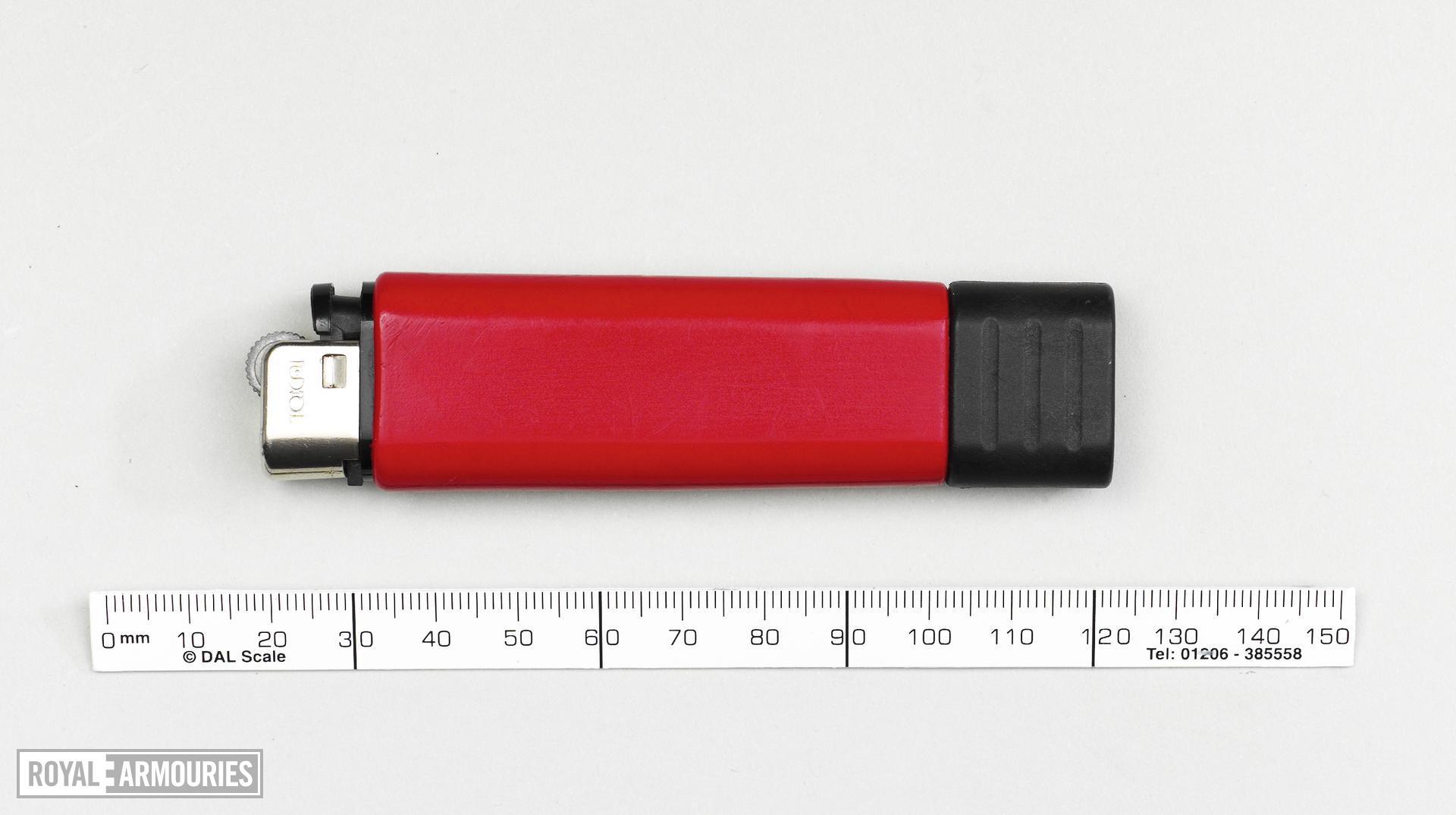 Knife Cigarette lighter knife