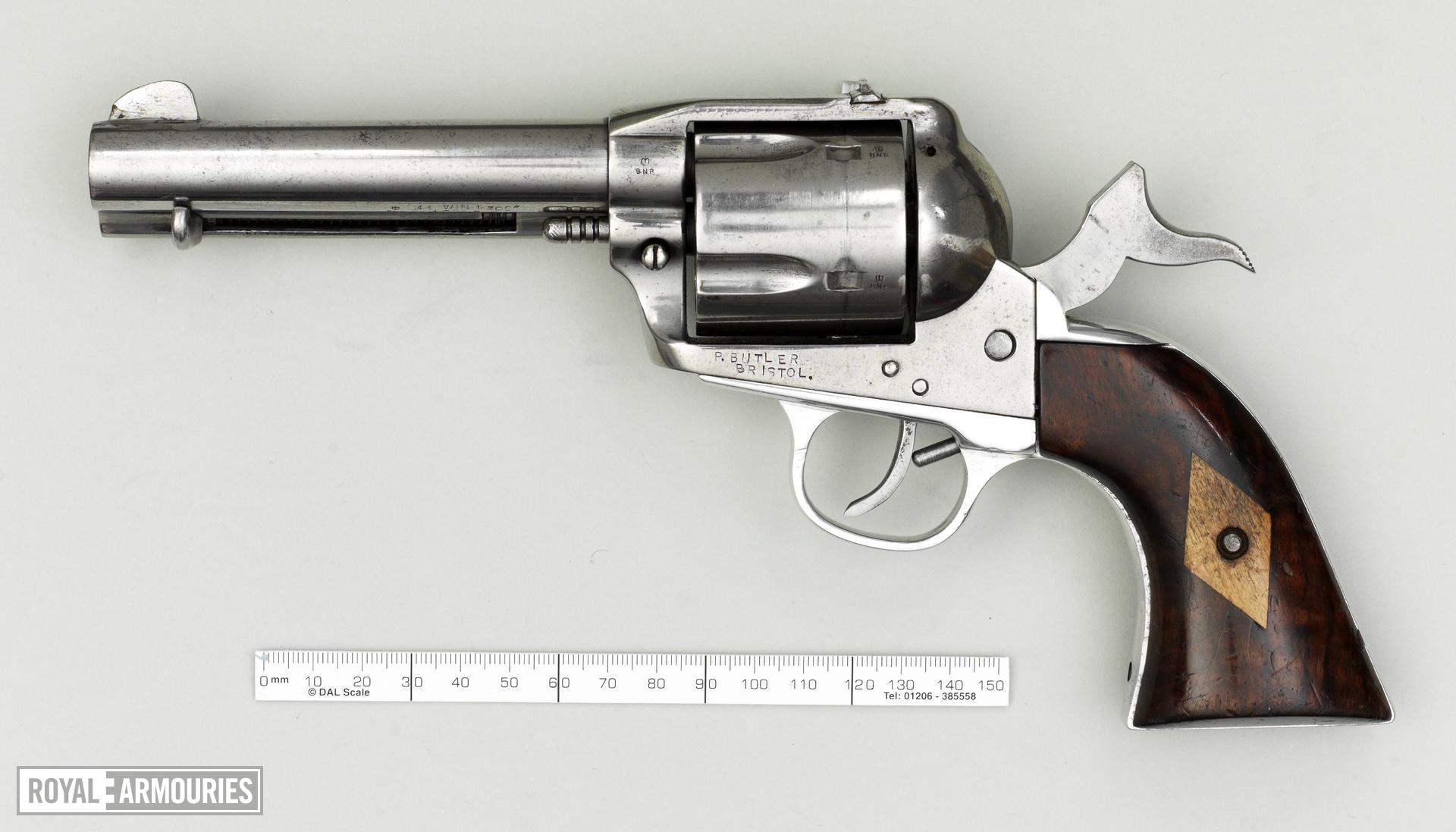 Centrefire six-shot revolver By R.Butler of Bristol