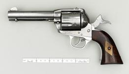 Thumbnail image of Centrefire six-shot revolver By R.Butler of Bristol