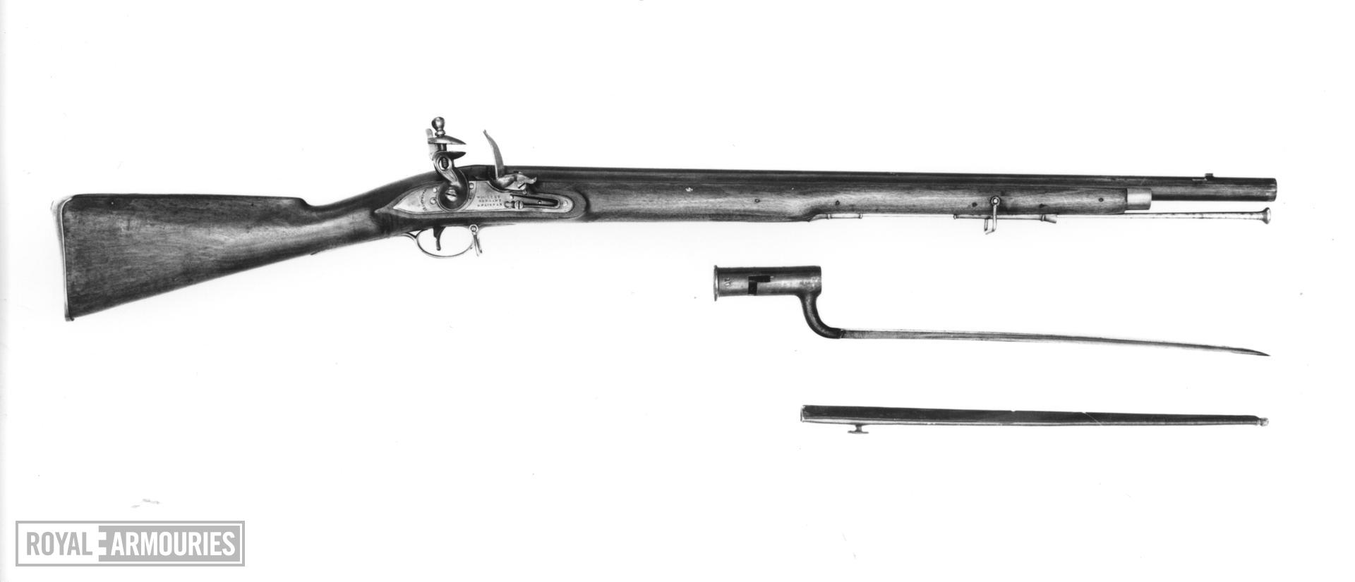 Flintlock muzzle-loading carbine - By Woolley, Sargant and Fairfax