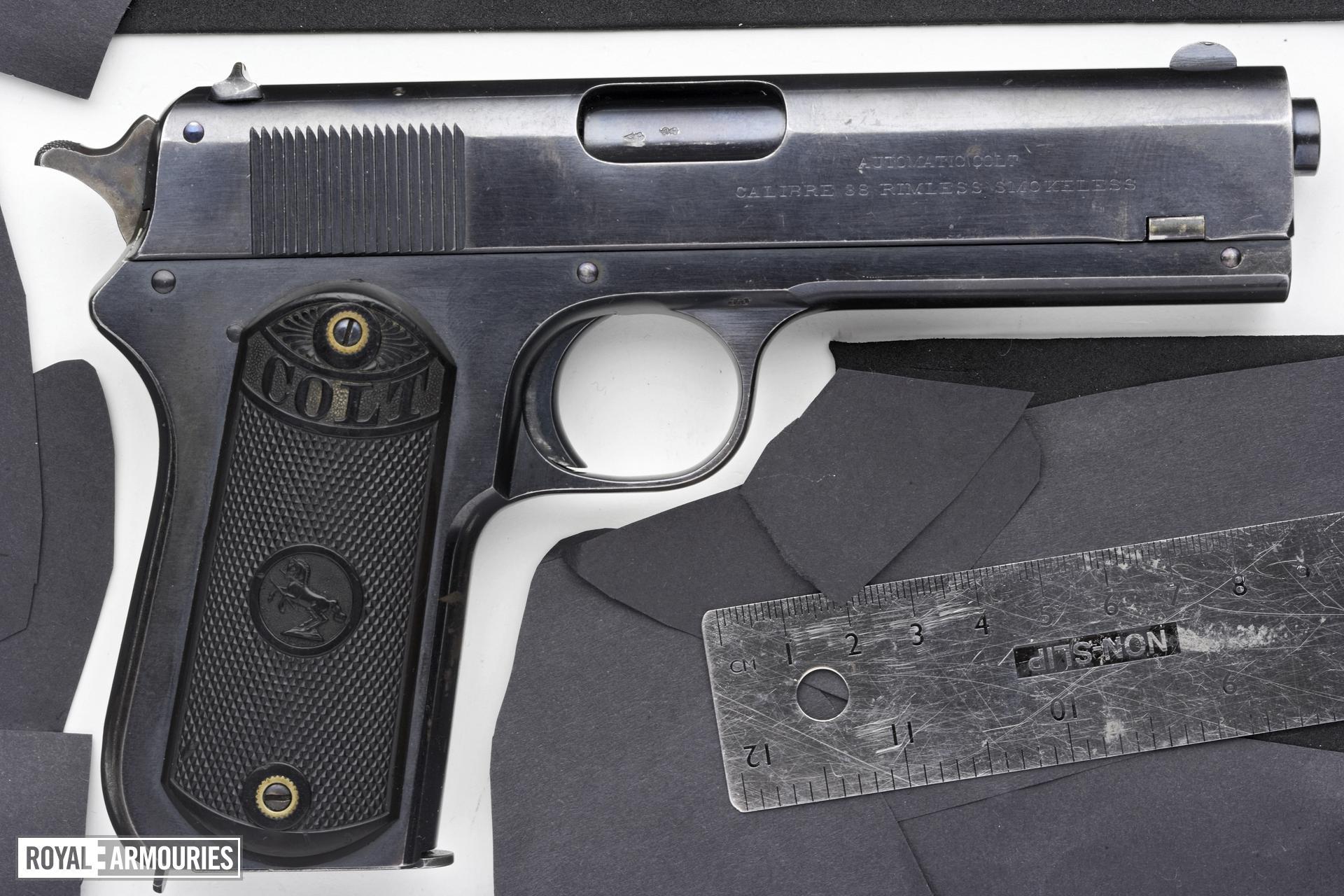 Centrefire self-loading pistol - Colt Pocket Model 1903