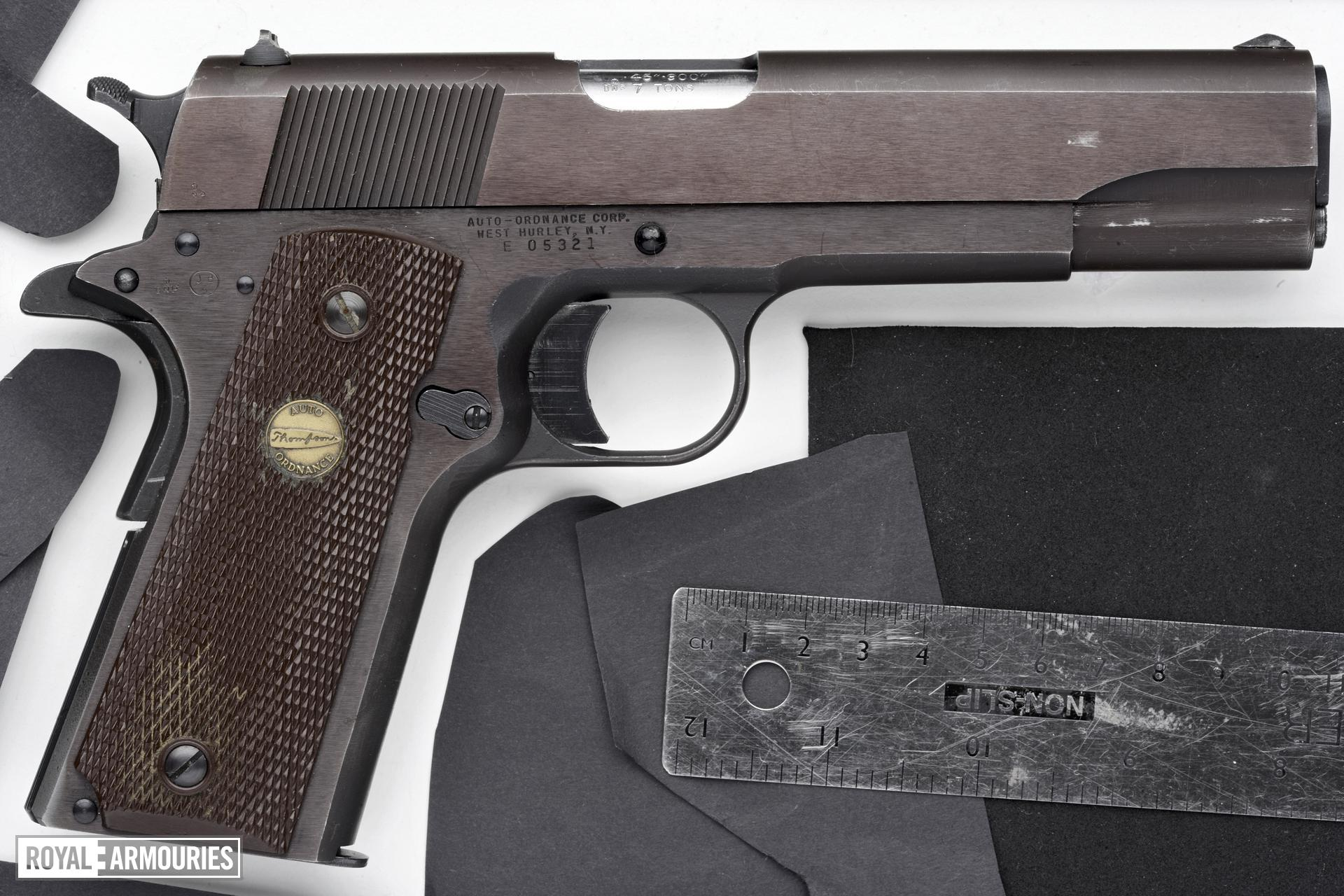 Centrefire self-loading pistol - Auto Ordnance Model 1911A1 Commercial model