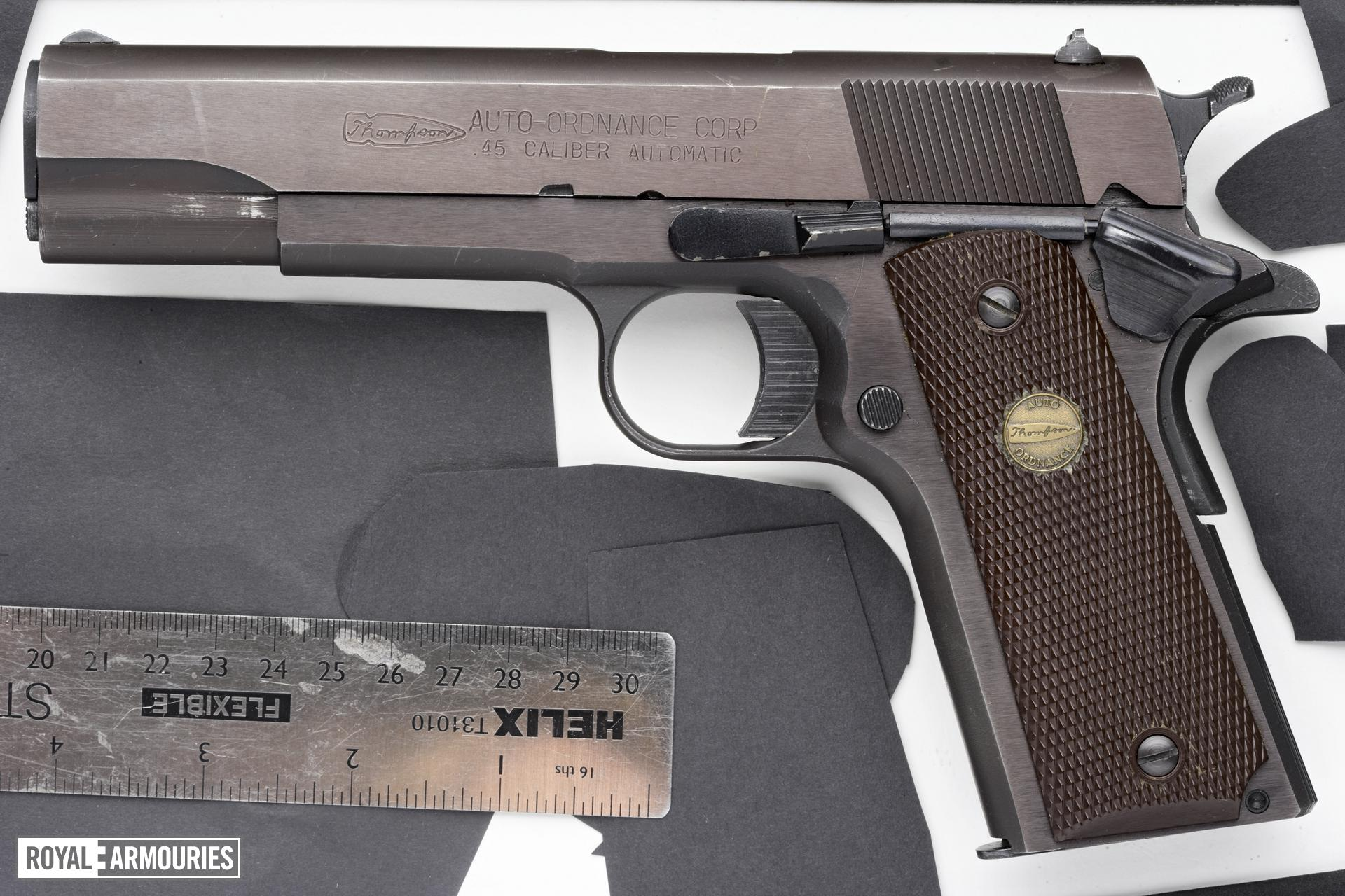 Centrefire self-loading pistol - Auto Ordnance Model 1911A1