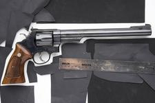 Thumbnail image of Centrefire six-shot revolver - Smith and Wesson Model 29-3 Bull barrel