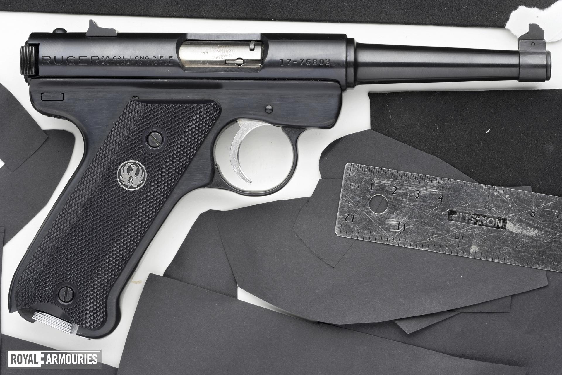 Rimfire self-loading pistol - Ruger Mk.I Standard