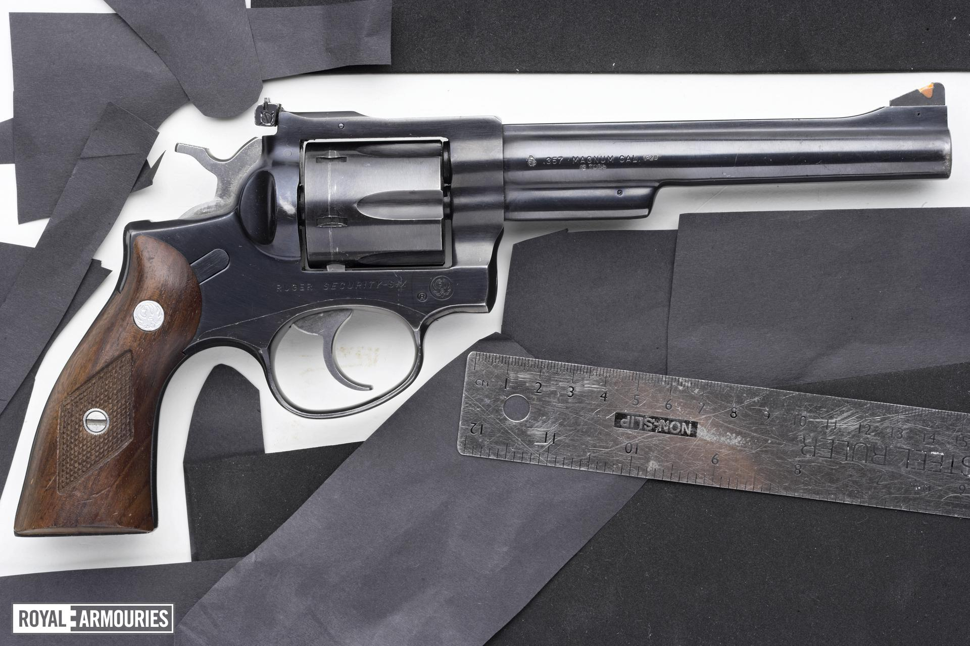Centrefire six-shot revolver - Ruger Security Six