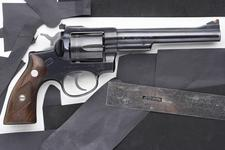 Thumbnail image of Centrefire six-shot revolver - Ruger Security Six Sturm Ruger and Co Inc, Southport, Connecticut