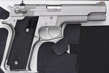 Thumbnail image of Centrefire self-loading pistol - Smith and Wesson Model 645