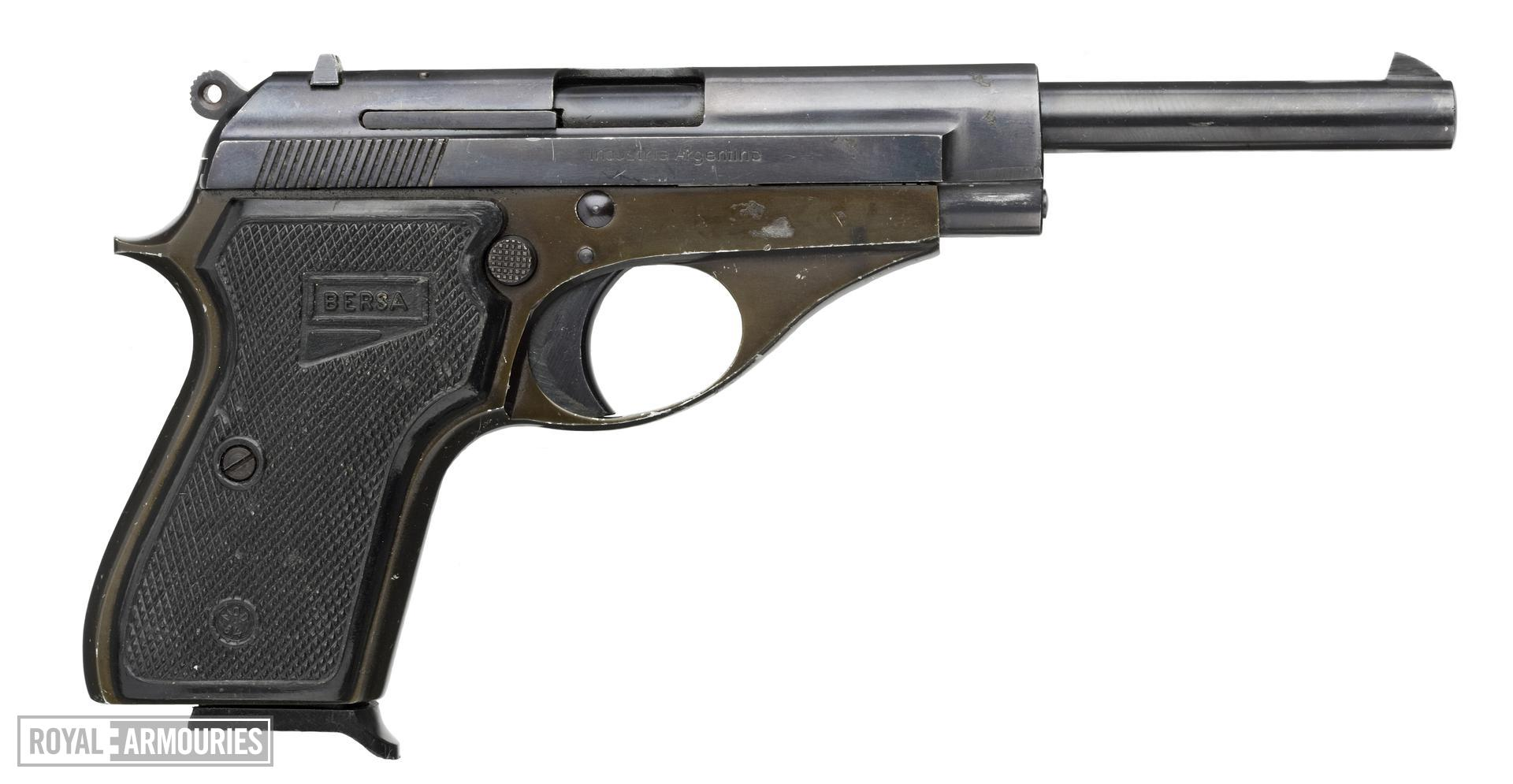 Rimfire self-loading pistol - Bersa Model 62