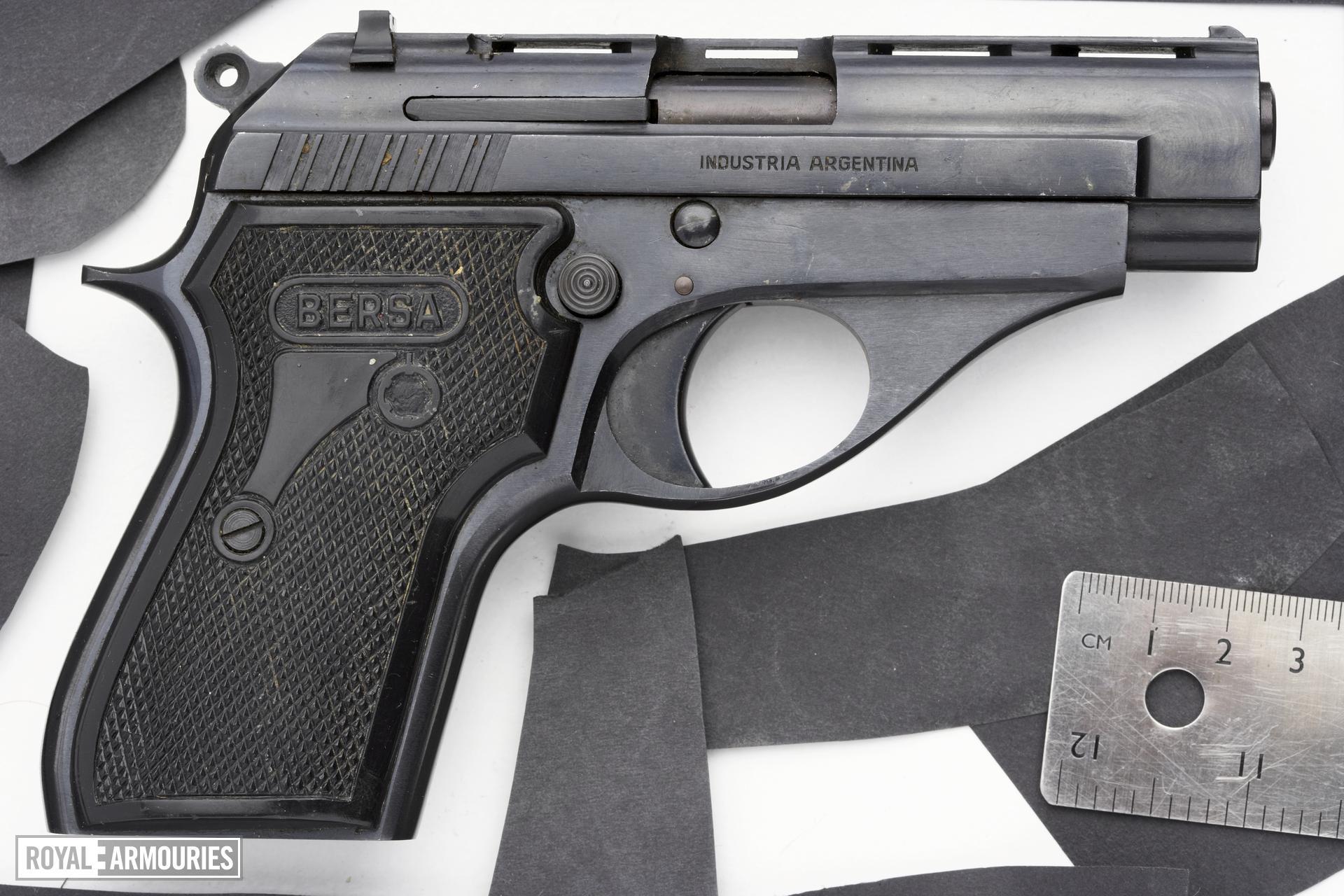 Rimfire self-loading pistol - Bersa Model 64