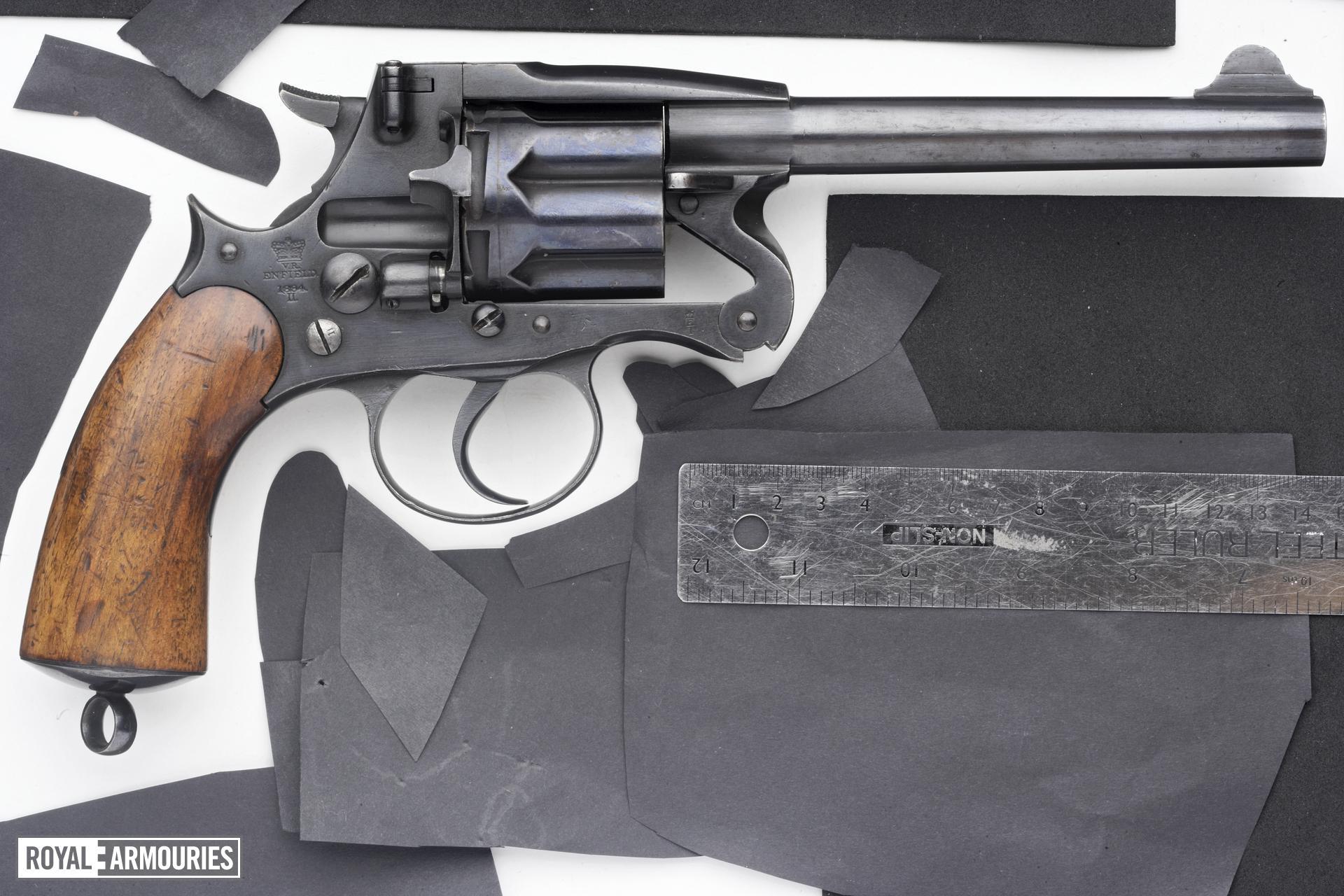 Centrefire six-shot revolver - Enfield Mk.II
