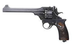 Thumbnail image of Centrefire six-shot self-cocking target revolver - Webley Fosbery Target Model Target model.