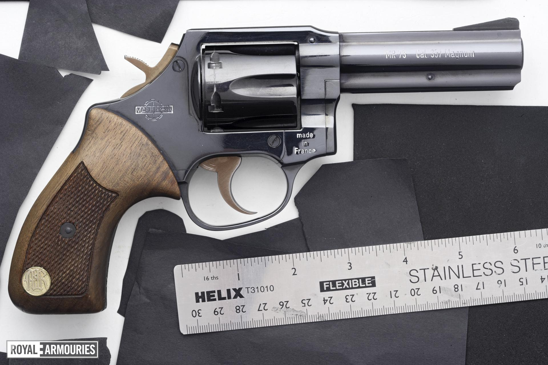 Centrefire six-shot revolver - Manurhin MR73